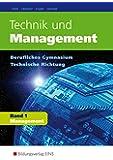 Technik und Management: Band 1: Management: Schülerband