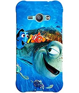 Clarks Printed Back Cover/Case For Samsung J1 Ace