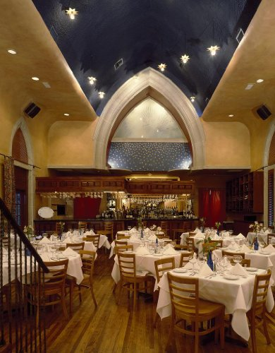 Photography Poster - Restaurant In A Restored Church Building In Houston Texa...