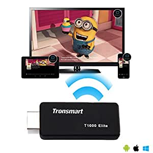 OPPO Mirror 5s SmartPhone EZCast ELITE Mirror2TV Adapter for Miracast/DLNA/Airplay Mirroring & Streaming HDTV Connections up to 300Mbps!