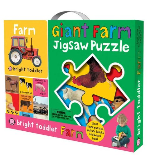 Bright Toddler Gift Bag - Farm