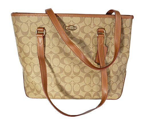 You Save Coach ZIP TOP Tote in