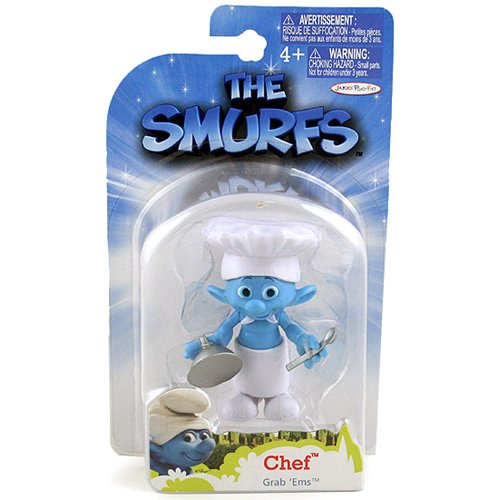 The Smurfs Movie Grab Ems Mini Figure Chef - 1
