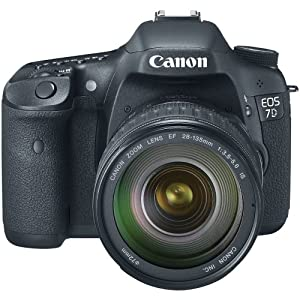 Canon EOS 7D 18 MP CMOS Digital SLR Camera with 28-135mm f/3.5-5.6 IS USM Lens (discontinued by manufacturer)