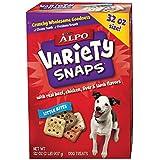 ALPO DOG TREATS VARIETY SNAPS LITTLE BITES 32 OZ
