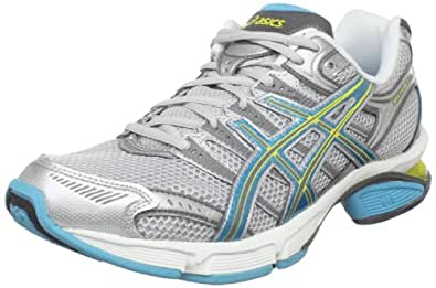 ASICS Women's GEL-Fluent 3 Running Shoe,Silver/Turquoise/Yel,11.5 M