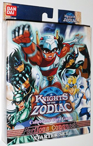 Knights of the Zodiac Collectable Card Game (CCG): Perilous Conquest Starter / Theme Deck - 1