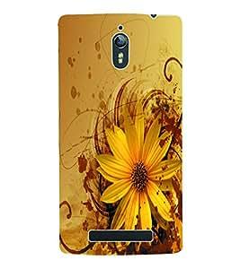 Fuson 3D Printed Flower Designer Back Case Cover for Oppo Find 7 - D969
