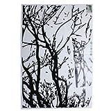 Autocollant d'arbre noir WLM mur Motif autocollant de mur en vente Décoration décalque Accueil / Décors Art Mural Stickers adhésifs décoratifs...