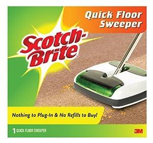 Scotch-Brite Quick Floor Sweeper M-007-CCW, 1-Count