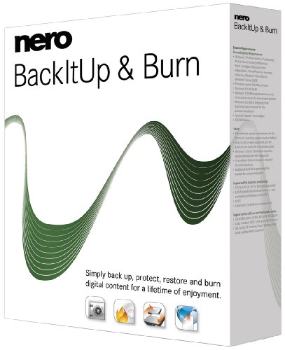 Nero BackItUp & Burn Multilingual [import allemand]