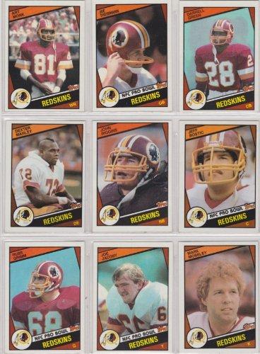 Washington Redskins 1984 Topps Football Team Set (Darrell Green Rookie Card) (Russ...