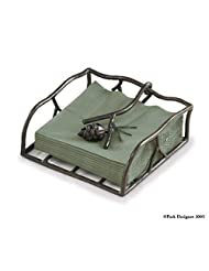 Pine Lodge Pinecone Paper Luncheon Napkin Holder by Park Designs