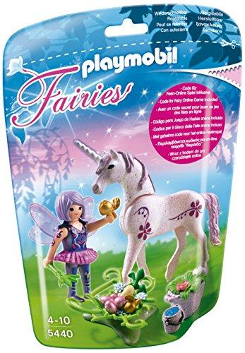 Playmobil-5440-Figurine-Fe-Cuisinire-Avec-Licorne-Violette