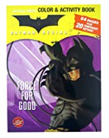 Batman Coloring And Activity Book - 'Force for Good' Batman Coloring Book plus Temp Tatoos!