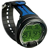 Cressi - Leonardo Dive Computer / Watch - Scuba Diving Wrist Computer [Blue]