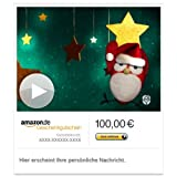 Amazon.de Gutschein per E-Mail mit Animation (Weihnachtsvogel) [American Greetings]