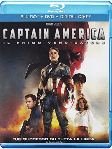 Captain America - Il primo vendicatore (+DVD) [Blu-ray] [IT Import]
