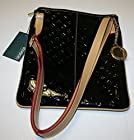 INVECE Italy Women's Leather Crossbody/Messenger/Purse Nero/Tan Color