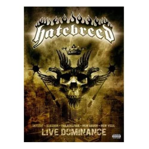 hatebreed live dominance dvd