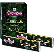 MaayasDeep Fuhaar Incense Sticks-Approx 180 Sticks-Pack Of 12 Regular Box 20 Grams Each