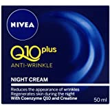 Nivea Q10 Plus Anti-Wrinkle Face Night Cream - 50 ml