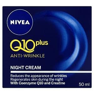 Nivea Q10 Plus Anti-Wrinkle Face Night Cream - 50 ml