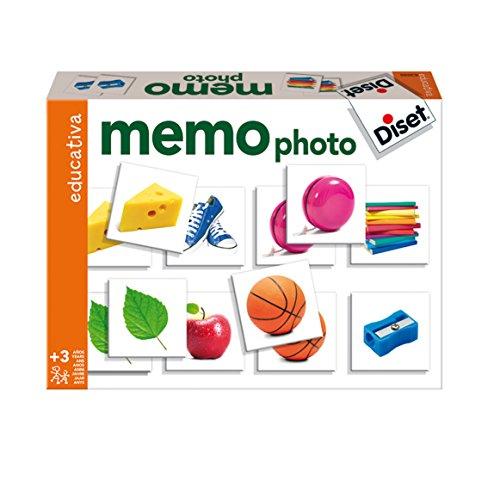Diset - 63698 - Memo Photo Objets