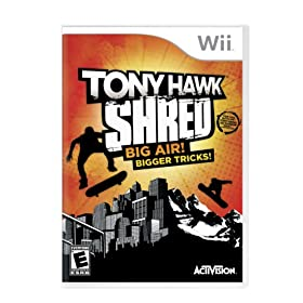 Tony Hawk: Shred Stand-Alone Software: Nintendo Wii