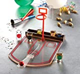 Crystal Clear Shot Glass Basketball Bar Game Set
