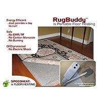 Speedheat Rugbuddy 370 Under Rug Space Heater 5 X 7