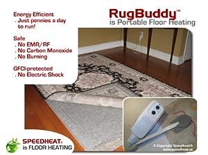 SpeedHeat Rugbuddy 370 Under Rug Space Heater, 5' X 7'