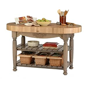 Harvest Table Kitchen Island Useful Gray