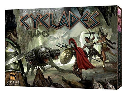 Asmodee 664203 - Juego de mesa Hades sobre Antigua Grecia (expansión de Cyclades, en inglés)
