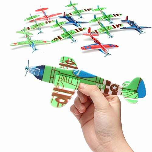 10pcs-flying-glider-planes-gift-birthday-christmas-party-bag-filler