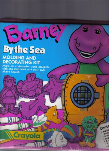 Crayola Barney By the Sea Molding and Decorating Kit - 1