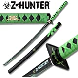 Zombie Hunter Blood Splatter Samurai Sword Katana ZB026