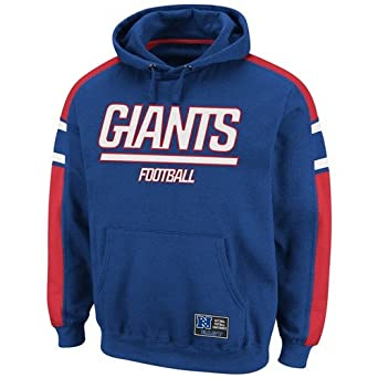NFL Mens New York Giants Passing Game II Deep Royal Athletic Red White Long Sleeve... by VF LSG