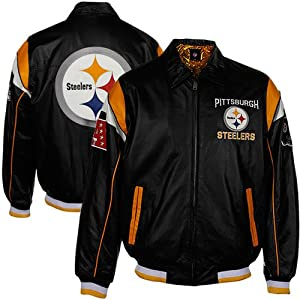 2013 Pittsburgh Steelers Leather Jacket by NFL