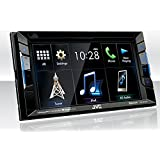 JVC KW-V230BT Bluetooth DVD/CD/USB Receiver with 6.2 Inch Touch Panel