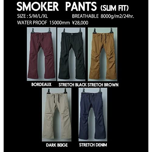 15-16 AA-HARDWEAR SMOKER PANTS(STRETCH BLACK, M)