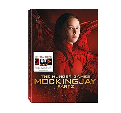 The Hunger Games: Mockingjay Part 2 (3-Disc Deluxe Edition Blu Ray + DVD + Digital HD)