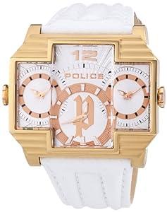 Police Herren-Armbanduhr HAMMERHEAD Analog Leder P13088JSR-04