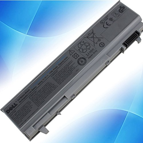 powerbest GENUINE ORIGINAL DELL LATITUDE E6400 E6410 E6500 E6510 KY265 6 Cell Battery (Latitude E6410 Battery compare prices)