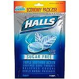 Halls Mountain Menthol, Sugar Free, 70-Count Bag (Pack of 4)