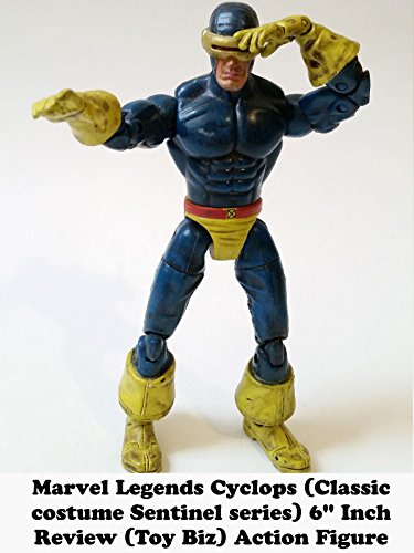 "Marvel Legends CYCLOPS (Classic costume Sentinel series) 6"" inch Review (Toy Biz) action figure"