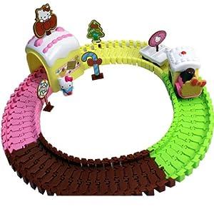 Amazon com hello kitty cake train set toys amp games