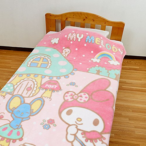[Sanrio My Melody cotton blankets mushroom House From Japan New] (One Up Mushroom Costume)