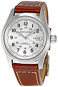 Hamilton Men's HML-H70455553 Khaki Field Silver Dial Watch