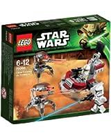 Lego Star Wars - 75000 - Jeu de Construction - Clone Troopers Vs Droïdekas